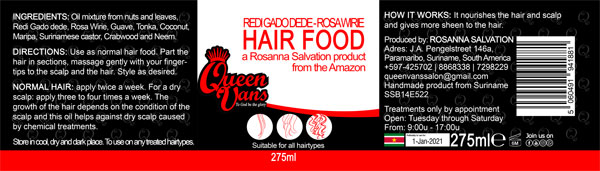 6g SSB14E522 5060491941881 Queen Vans Hair Food Redi Gado dede Rosa Wirie 275ml 225mmx60mm RGB 1200px