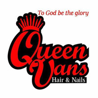 Queen Vans Hair and Nails Logo